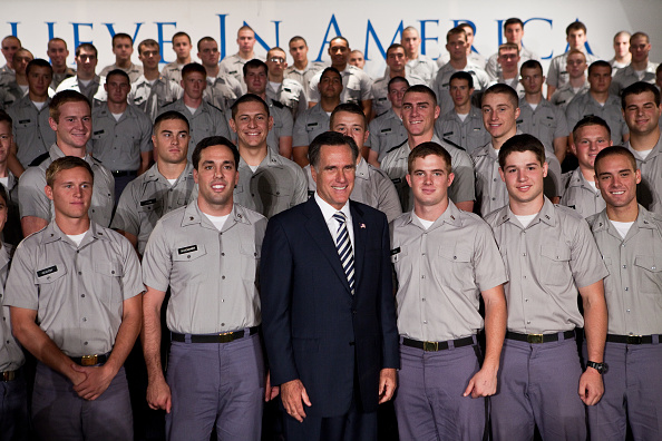 Charleston - South Carolina「Mitt Romney Gives Foreign Policy Address At The Citadel」:写真・画像(5)[壁紙.com]