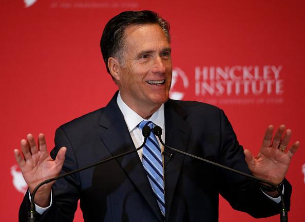 Mitt Romney「Mitt Romney Delivers Speech On State Of 2016 GOP Presidential Race」:写真・画像(19)[壁紙.com]