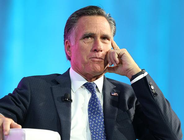 Mitt Romney「Mitt Romney Addresses Silicon Slopes Summit In Salt Lake City」:写真・画像(2)[壁紙.com]