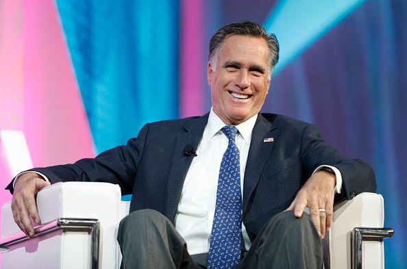 Mitt Romney「Mitt Romney Addresses Silicon Slopes Summit In Salt Lake City」:写真・画像(4)[壁紙.com]