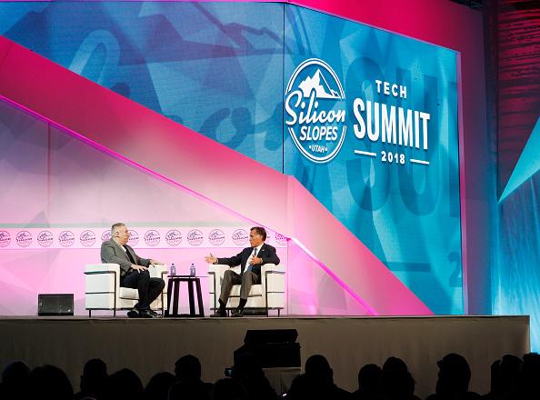 Home Automation「Mitt Romney Addresses Silicon Slopes Summit In Salt Lake City」:写真・画像(15)[壁紙.com]