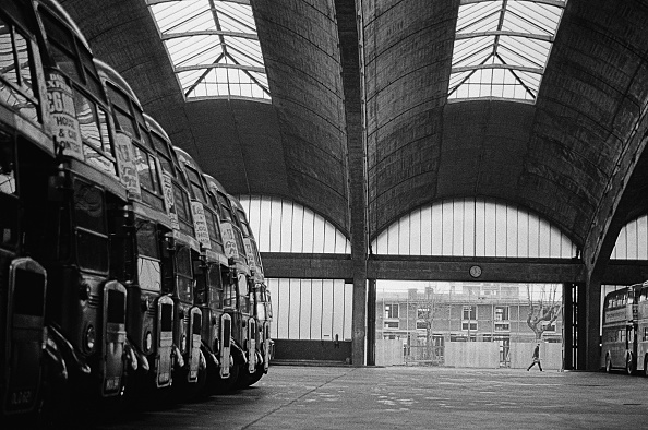 Double-Decker Bus「Stockwell Bus Garage」:写真・画像(16)[壁紙.com]
