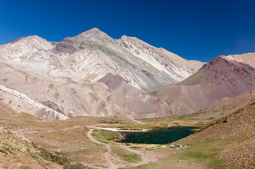 Mount Aconcagua「Laguna de Horcones at the foot of Aconcagua」:スマホ壁紙(10)