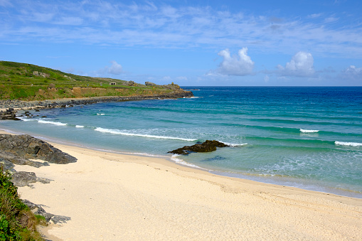 Cornwall - England「UK, England, Cornwall, St Ives, Porthmeor Beach」:スマホ壁紙(2)
