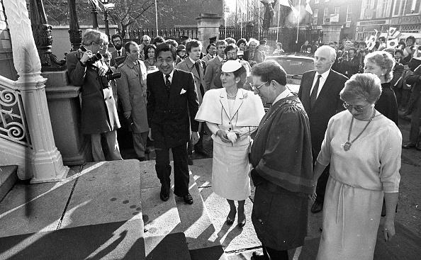 Emperor Akihito「Japanese Royal Visit 1985」:写真・画像(7)[壁紙.com]