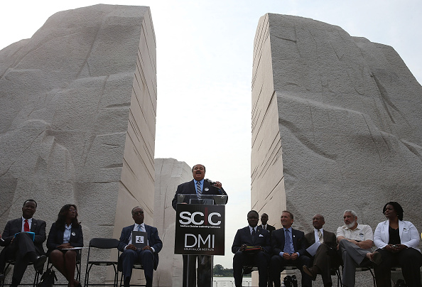 1965 Voting Rights Act「Rally At MLK Memorial Commemorates 50th Anniversary Of Voting Rights Act」:写真・画像(9)[壁紙.com]