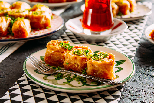 Turkey - Middle East「Delicious Turkish Dessert Baklava」:スマホ壁紙(2)