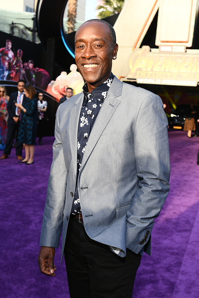 "Don Cheadle「Premiere Of Disney And Marvel's ""Avengers: Infinity War"" - Red Carpet」:写真・画像(14)[壁紙.com]"