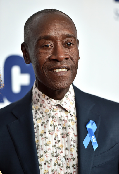 Don Cheadle「ACLU SoCal's Annual Bill Of Rights Dinner - Arrivals」:写真・画像(5)[壁紙.com]
