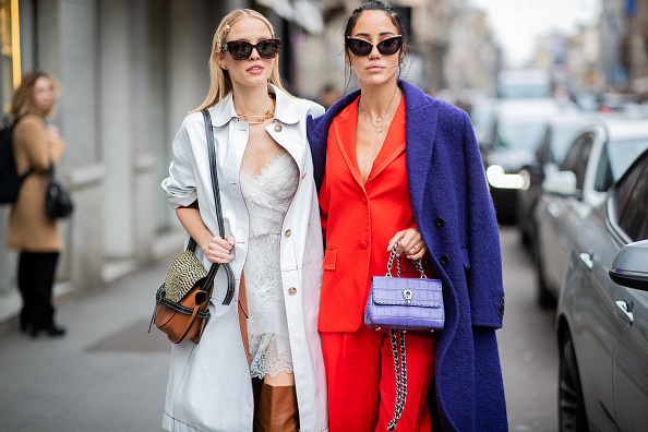 Street Style「Ermanno Scervino - Street Style - Milan Fashion Week 2019」:写真・画像(14)[壁紙.com]