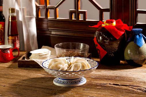 Winter Solstice「dumplings」:スマホ壁紙(18)