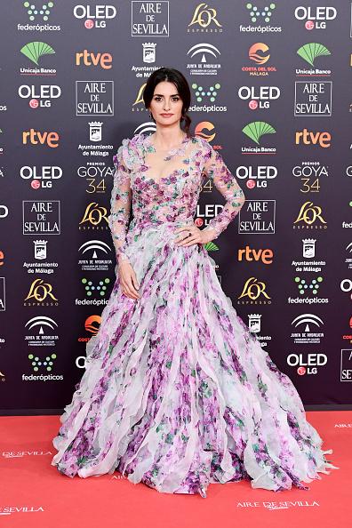 Floral Pattern Dress「Swarovski At Goya Cinema Awards 2020」:写真・画像(4)[壁紙.com]