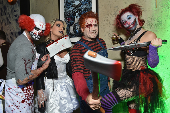 Jamie McCarthy「Heidi Klum's 17th Annual Halloween Party sponsored by SVEDKA Vodka at Vandal New York - Inside」:写真・画像(15)[壁紙.com]