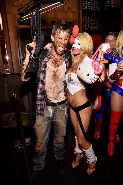 Jamie McCarthy「Moto X Presents Heidi Klum's 15th Annual Halloween Party Sponsored By SVEDKA Vodka At TAO Downtown - Inside」:写真・画像(10)[壁紙.com]