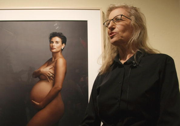 "Pregnant「Annie Leibovitz - ""A Photographer's Life"" Press Conference」:写真・画像(14)[壁紙.com]"