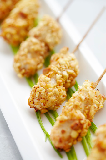Delicatessen「Peanut covered chicken kebabs」:スマホ壁紙(7)