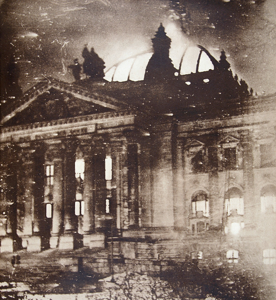 Arson「The Reichstag On Fire Berlin Germany 27 February 1933」:写真・画像(4)[壁紙.com]