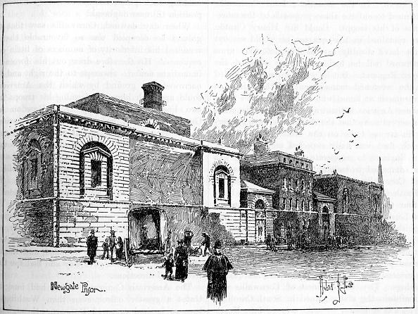 City Life「Newgate Prison, London, 1900」:写真・画像(9)[壁紙.com]