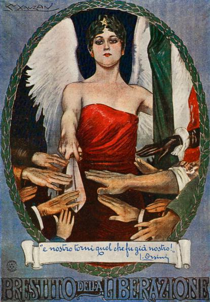 Patriotism「War bonds - Italian World War I postcard」:写真・画像(0)[壁紙.com]