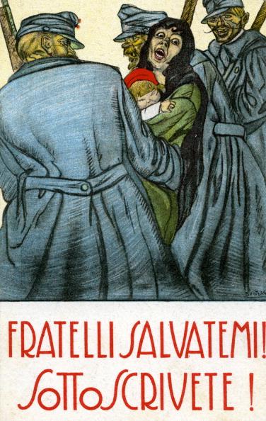 Patriotism「War bonds - Italian World War I postcard」:写真・画像(8)[壁紙.com]