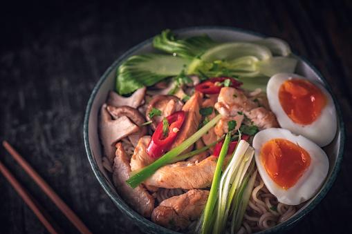 Miso Ramen「Miso Ramen Noodle Soup」:スマホ壁紙(15)
