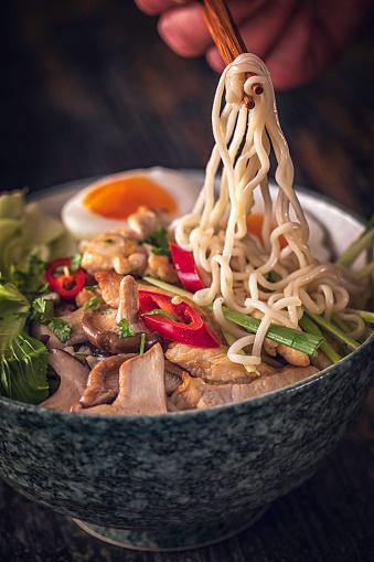Miso Ramen「Miso Ramen Noodle Soup」:スマホ壁紙(1)