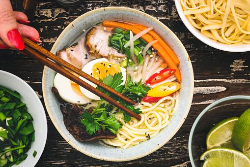 Miso Ramen「Miso Ramen Noodle Soup」:スマホ壁紙(14)