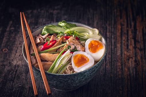 Miso Ramen「Miso Ramen Noodle Soup」:スマホ壁紙(16)