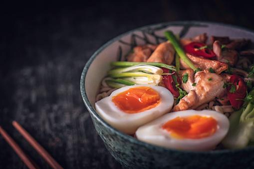 Miso Ramen「Miso Ramen Noodle Soup」:スマホ壁紙(17)