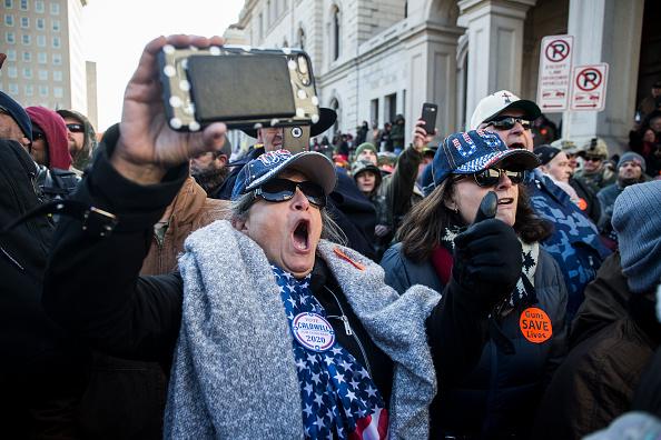 Virginia - US State「Gun Rights Advocates From Across U.S. Rally In Virginia's Capital Against Gun Control Legislation」:写真・画像(13)[壁紙.com]
