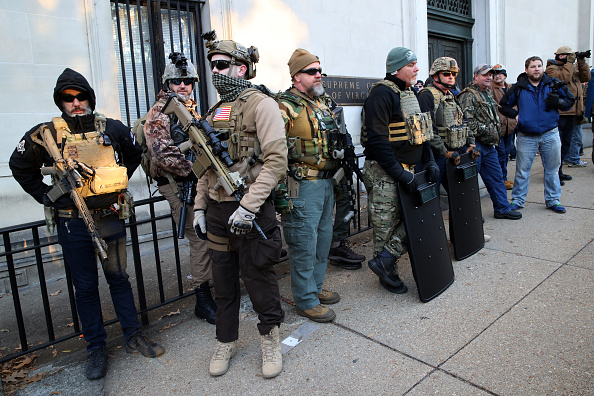 Virginia - US State「Gun Rights Advocates From Across U.S. Rally In Virginia's Capital Against Gun Control Legislation」:写真・画像(1)[壁紙.com]