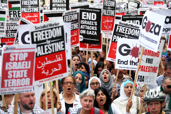Oli Scarff「Israeli Embassy Demonstration In London」:写真・画像(3)[壁紙.com]