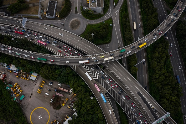 Traffic「Unrest In Hong Kong During Anti-Government Protests」:写真・画像(17)[壁紙.com]