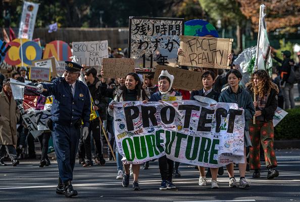 Environmental Damage「Global Climate Strike in Tokyo」:写真・画像(2)[壁紙.com]