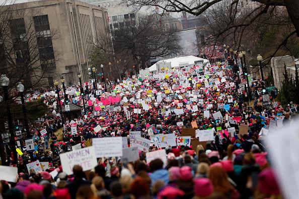 Aaron P「Thousands Attend Women's March On Washington」:写真・画像(9)[壁紙.com]