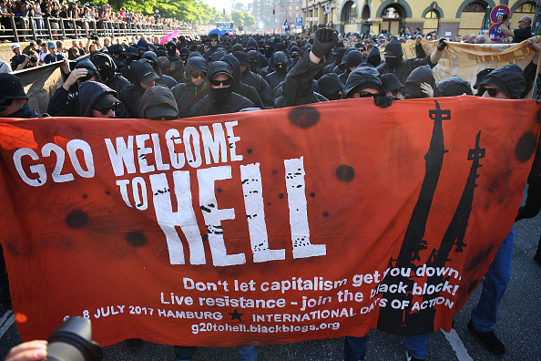 Hamburg - Germany「Protesters March During The G20 Summit」:写真・画像(19)[壁紙.com]