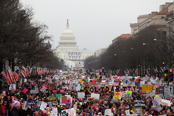 Washington DC「Thousands Attend Women's March On Washington」:写真・画像(15)[壁紙.com]