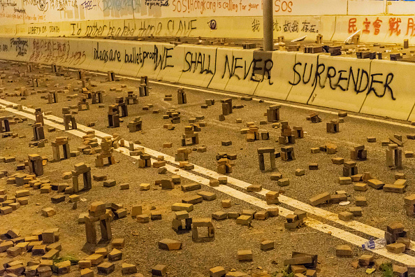 Brick「Anti-Government Protests in Hong Kong」:写真・画像(2)[壁紙.com]