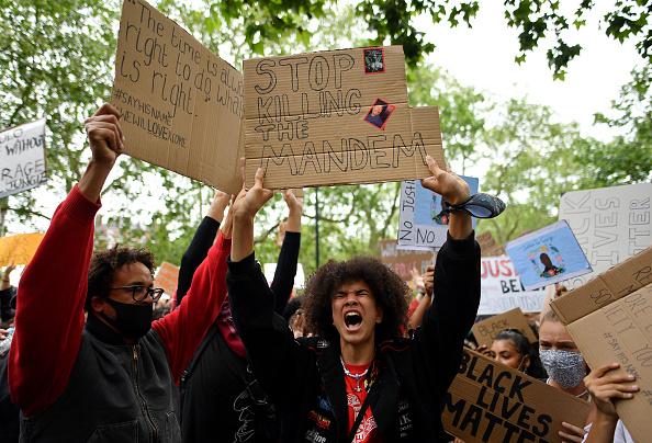 Hyde Park - London「Black Lives Matter Movement Inspires Protest In London」:写真・画像(8)[壁紙.com]