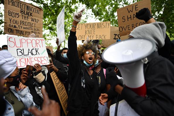 Hyde Park - London「Black Lives Matter Movement Inspires Protest In London」:写真・画像(0)[壁紙.com]