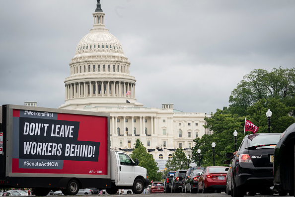 Employment And Labor「AFL-CIO Holds Nationwide Workers First Caravans For Racial And Economic Justice」:写真・画像(12)[壁紙.com]