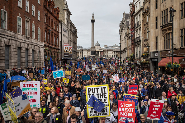 Protestor「Put It To The People March Takes Place In Central London」:写真・画像(13)[壁紙.com]