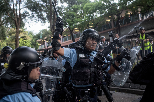 Police Force「Anti-Extradition Protests In Hong Kong」:写真・画像(15)[壁紙.com]