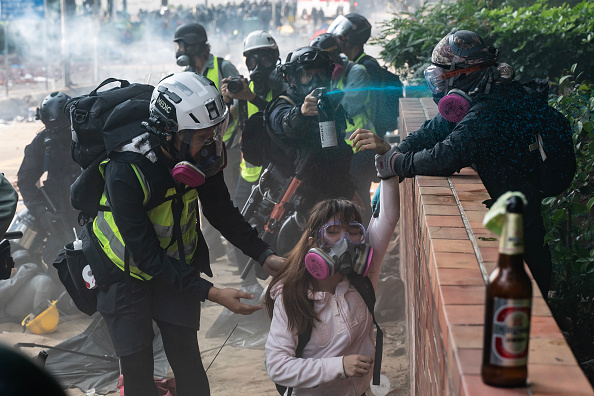 Human Rights「Anti-Government Protests in Hong Kong」:写真・画像(18)[壁紙.com]