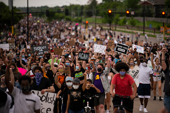 Protest「'I Can't Breathe' Protest Held After Man Dies In Police Custody In Minneapolis」:写真・画像(1)[壁紙.com]