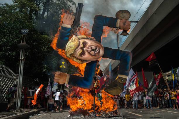 Asia「U.S. President Trump Visits Philippines」:写真・画像(5)[壁紙.com]
