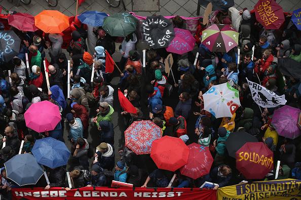 Blockupy「Blockupy Protests In Frankfurt」:写真・画像(15)[壁紙.com]