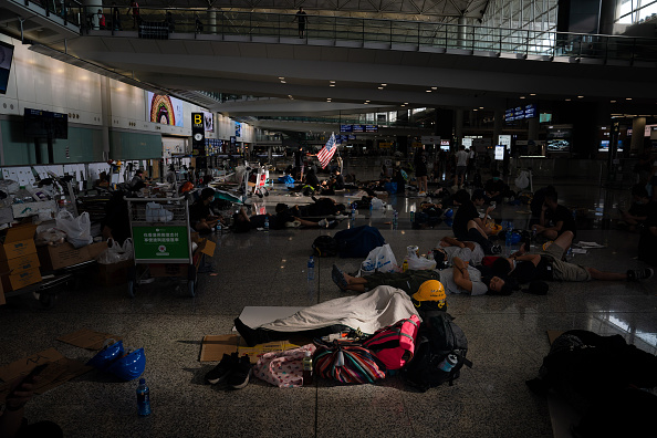 Hong Kong International Airport「Unrest In Hong Kong During Anti-Extradition Protests」:写真・画像(19)[壁紙.com]