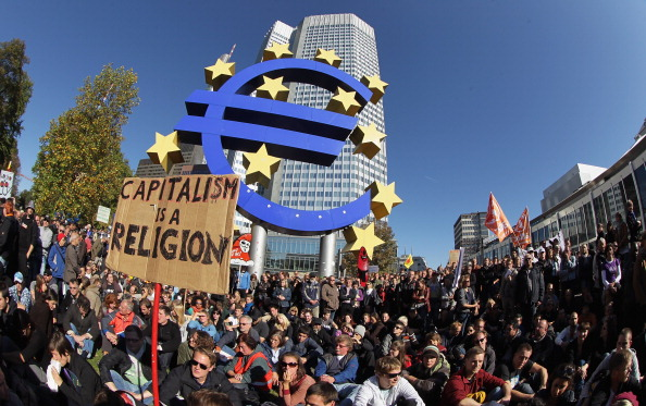 European Union「Occupy Wall Street-Inspired Protests In Germany」:写真・画像(13)[壁紙.com]