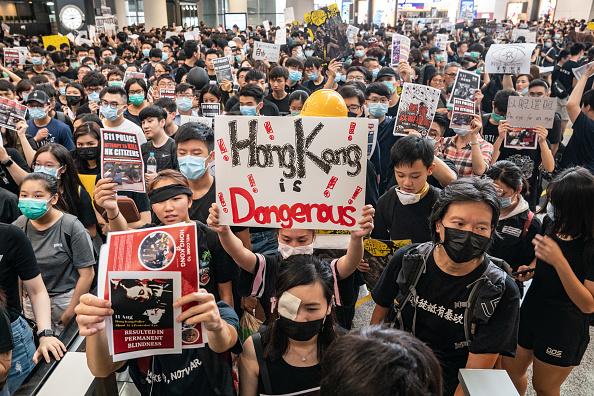 Protest「Unrest In Hong Kong During Anti-Extradition Protests」:写真・画像(15)[壁紙.com]